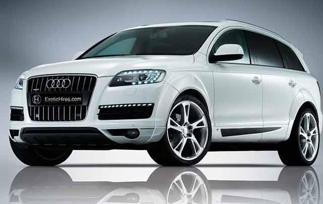 Audi Q Exotic Hires Best Cars Best Price - Audi best price